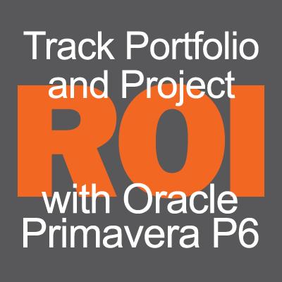 Track Portfolio and Project ROI with Primavera P6